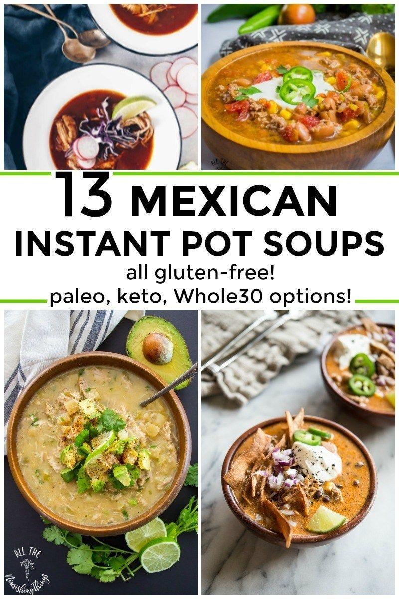 50 healthy glutenfree mexican instant pot recipes