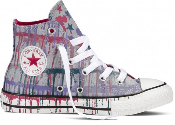 6c4de63f0a I wantz! CONVERSE Kids' Chuck Taylor High Top Paint Sneaker Pre ...