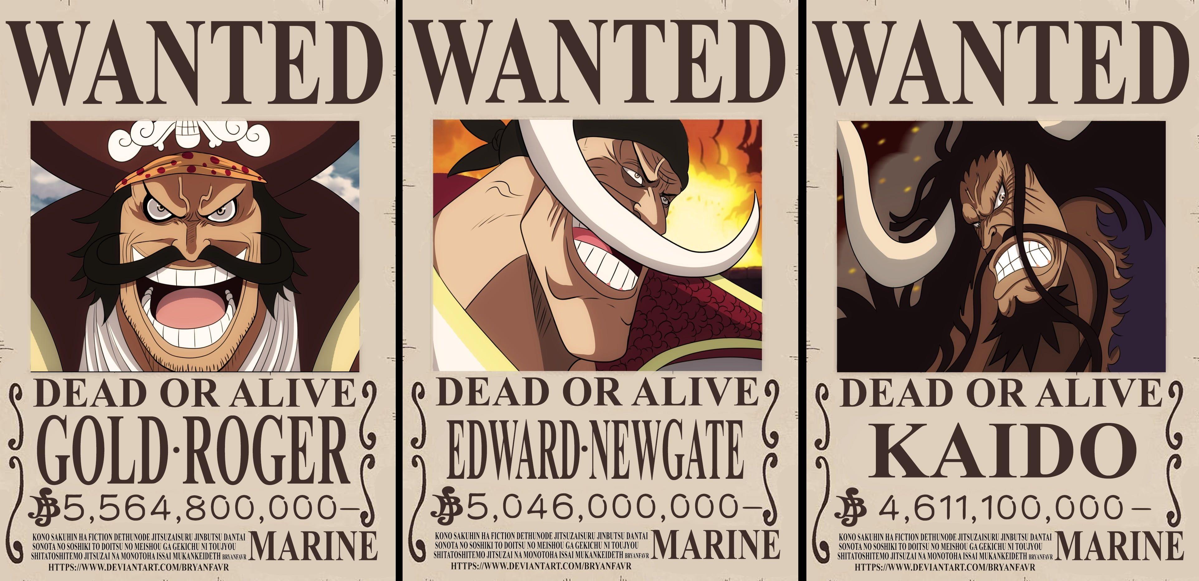 One Piece Edward Newgate Gol D Roger Kaido One Piece 4k Wallpaper Hdwallpaper Desktop In 2020 Kaido One Piece Wallpaper Old Hag