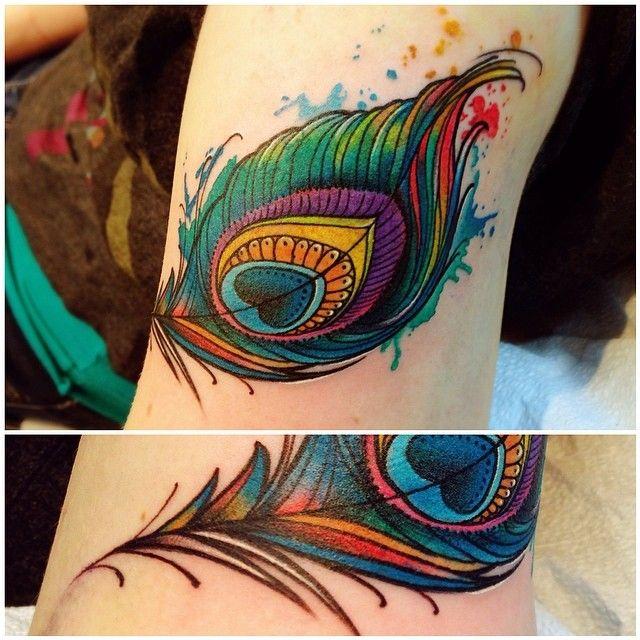 peacock feather -  Katie Shocrylas
