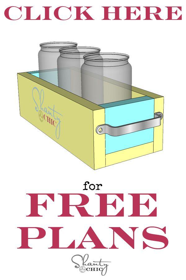 Mason Jar Planter Box For Mother S Day Mason Jar Planter Wood Box Centerpiece Mason Jar Diy