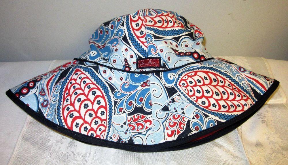 d630e833a44ef Vera Bradley Limited Edition Seaside Sun hat crusher style beach bucket hat   VeraBradley