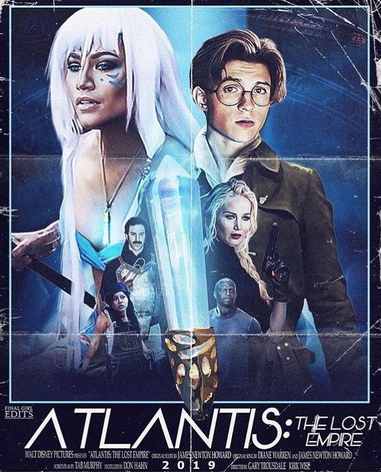 Atlantis Live Action Atlantis The Lost Empire Atlantis Tom