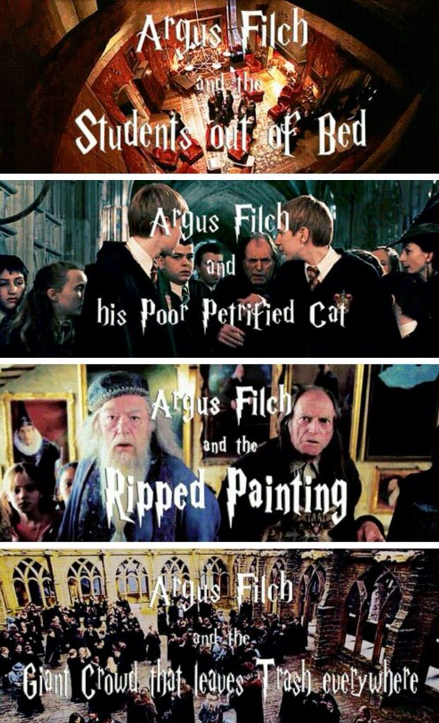 The World According To Argus Filch