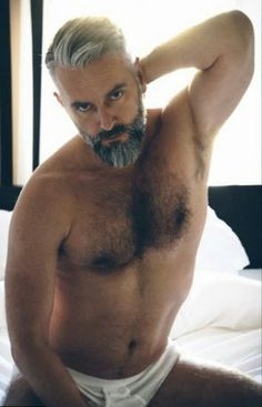 Hairy men over 50