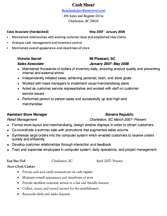 Handpicked Resume Sample Resumesdesign Resume Template Examples Resume Sample Resume Templates