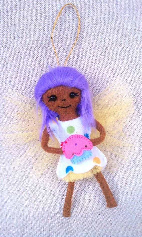 Mini Pixie Doll Cupcake by MsBittyKnacks on Etsy, $20.00