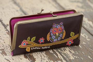 Kind Owl Vegan Wallet