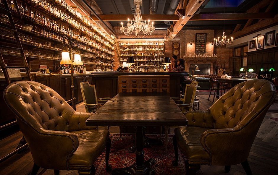 multnomah whisk e y library portland s hottest restaurant is a speakeasy like bar in a former. Black Bedroom Furniture Sets. Home Design Ideas