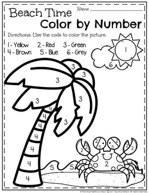 summer preschool worksheets preschool colors number worksheets and worksheets. Black Bedroom Furniture Sets. Home Design Ideas