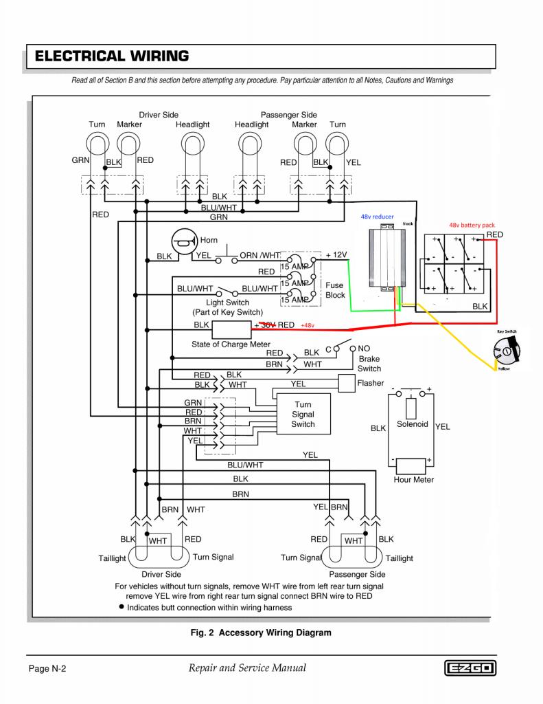 17 Simple Car Wiring Diagrams Design Https Bacamajalah Com 17 Simple Car Wiring Diagrams Design Car Diagrams Wiring Diagram Golf Cart Batteries Wire