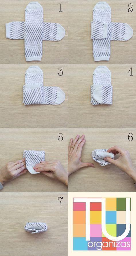 Socken wie Falten, Aufhängen und Aufbewahren – Clara Wolf Blog