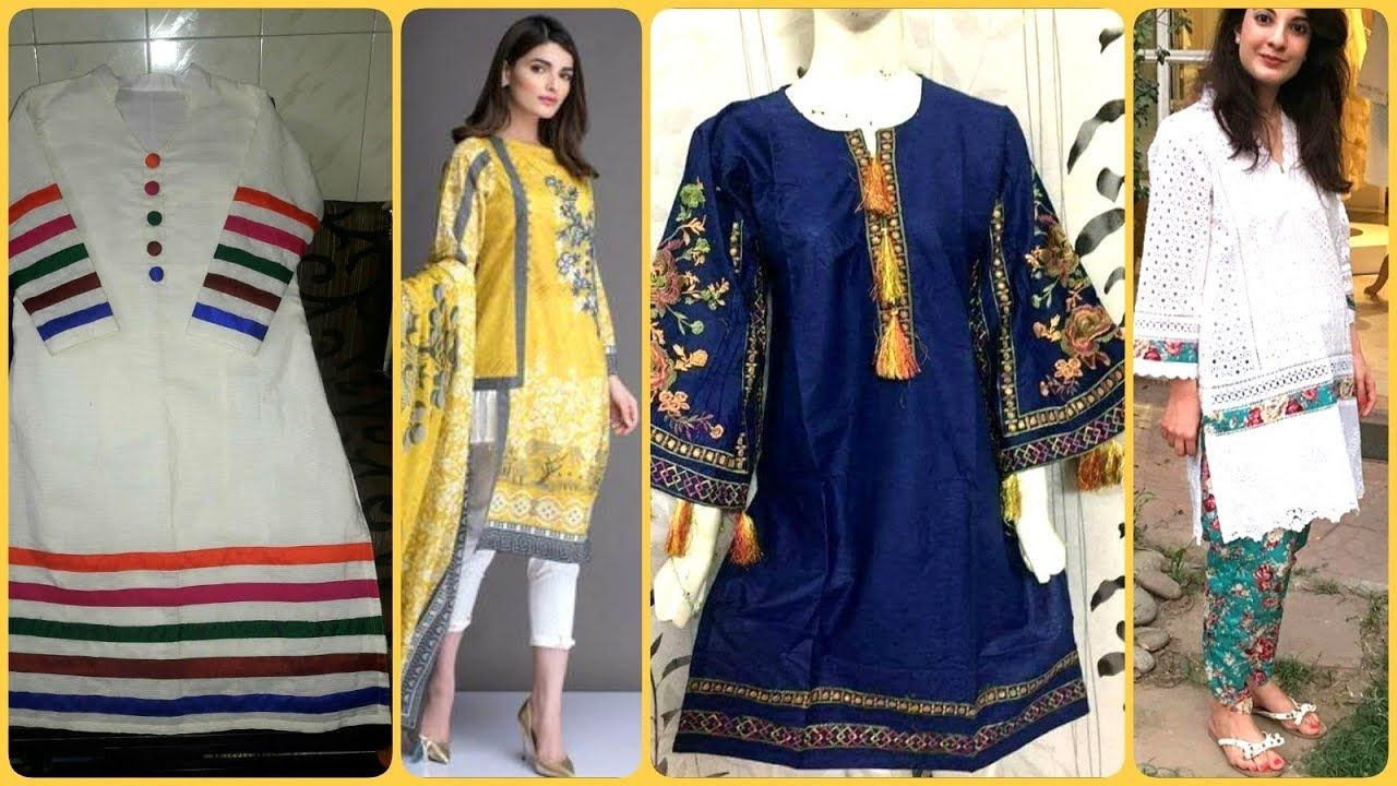 Trending And Stunning Casual Summer Lawn Dresses Designs And Kurties Id Summer Casual Summer Lawn Casual