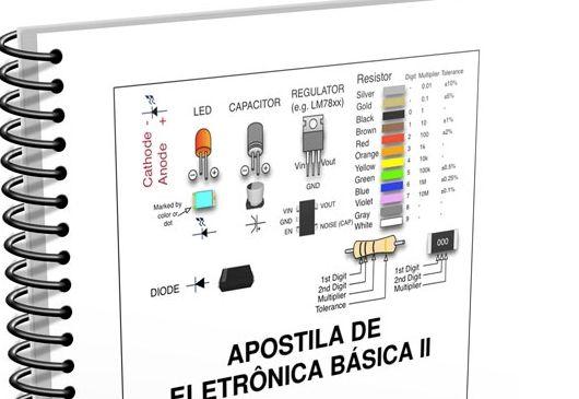 Download apostila de Eletrônica básica em PDF