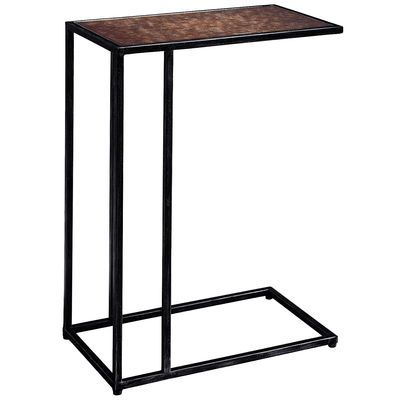 With The Ultra Versatile Maxwell C Table C Ing Is Believing Note The Ingenious Three Sided Design Perfect For Pulling Up To A Sofa Table C Table Glass Table