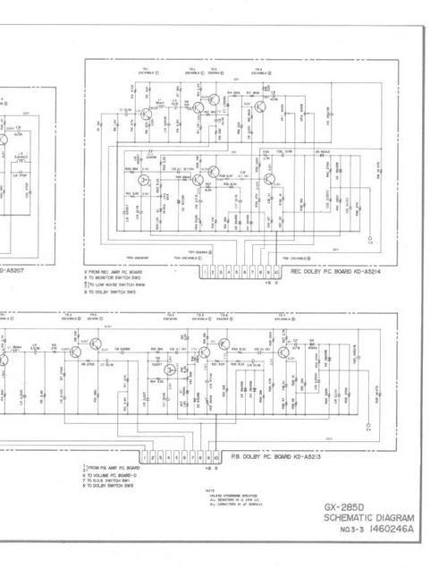 Akai GX-285D reel tape recorder Schematics | Tape recorder ... on shimano parts schematics, engine schematics, electric schematics, daiwa parts schematics, wire schematics, abu garcia schematics, ambassadeur 6500 striper drag schematics, trailer schematics,