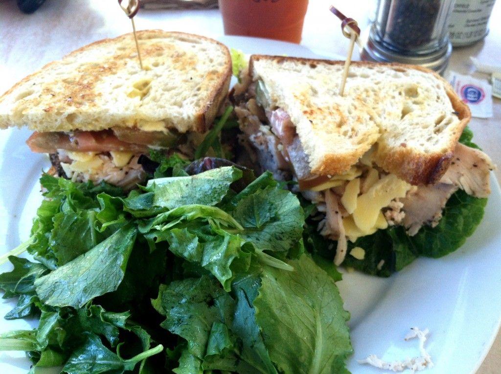 Turkey & Grafton Cheddar Sandwich at Sweet Butter Kitchen in Sherman Oaks, CA