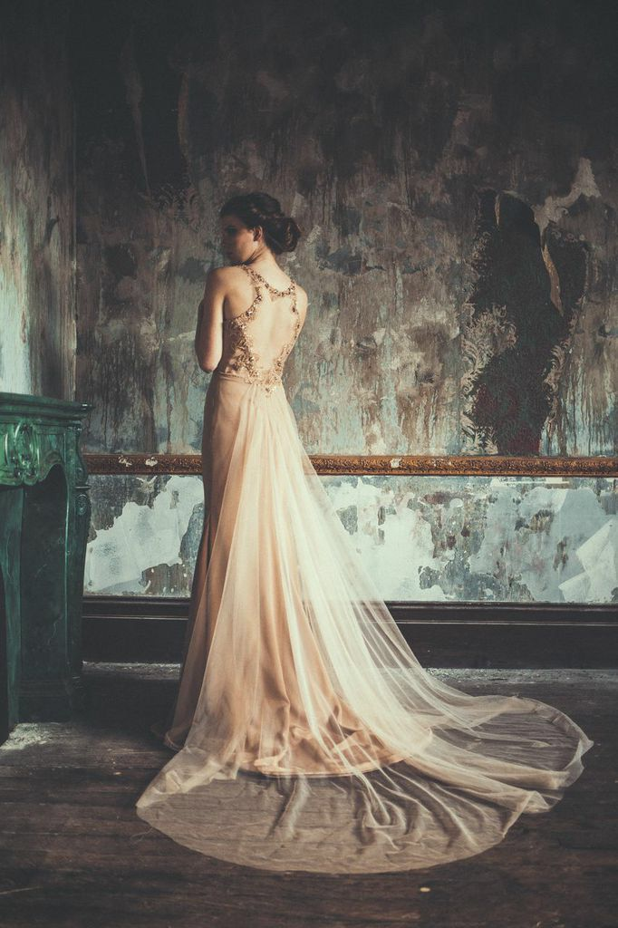 industrial wedding // modern wedding // wedding dress // Couture Collection 2014 - Alana Aoun