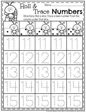 numbers 11 20 games pinterest tracing worksheets teen numbers and worksheets. Black Bedroom Furniture Sets. Home Design Ideas