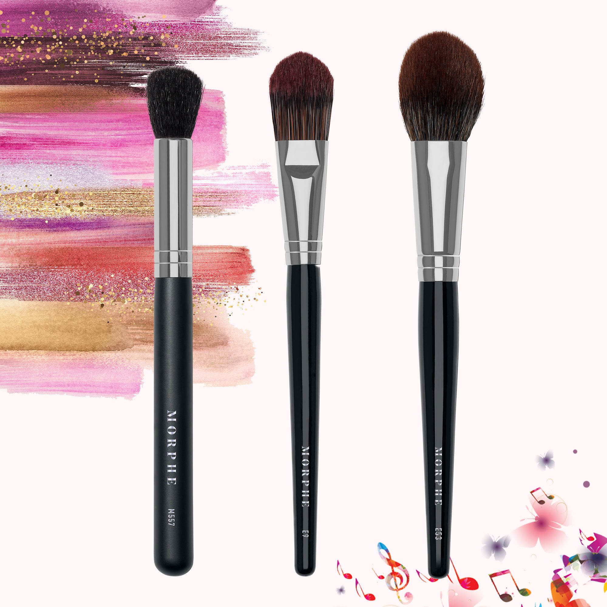 Morphe Makeup Brushes Oval foundation brush, Contour