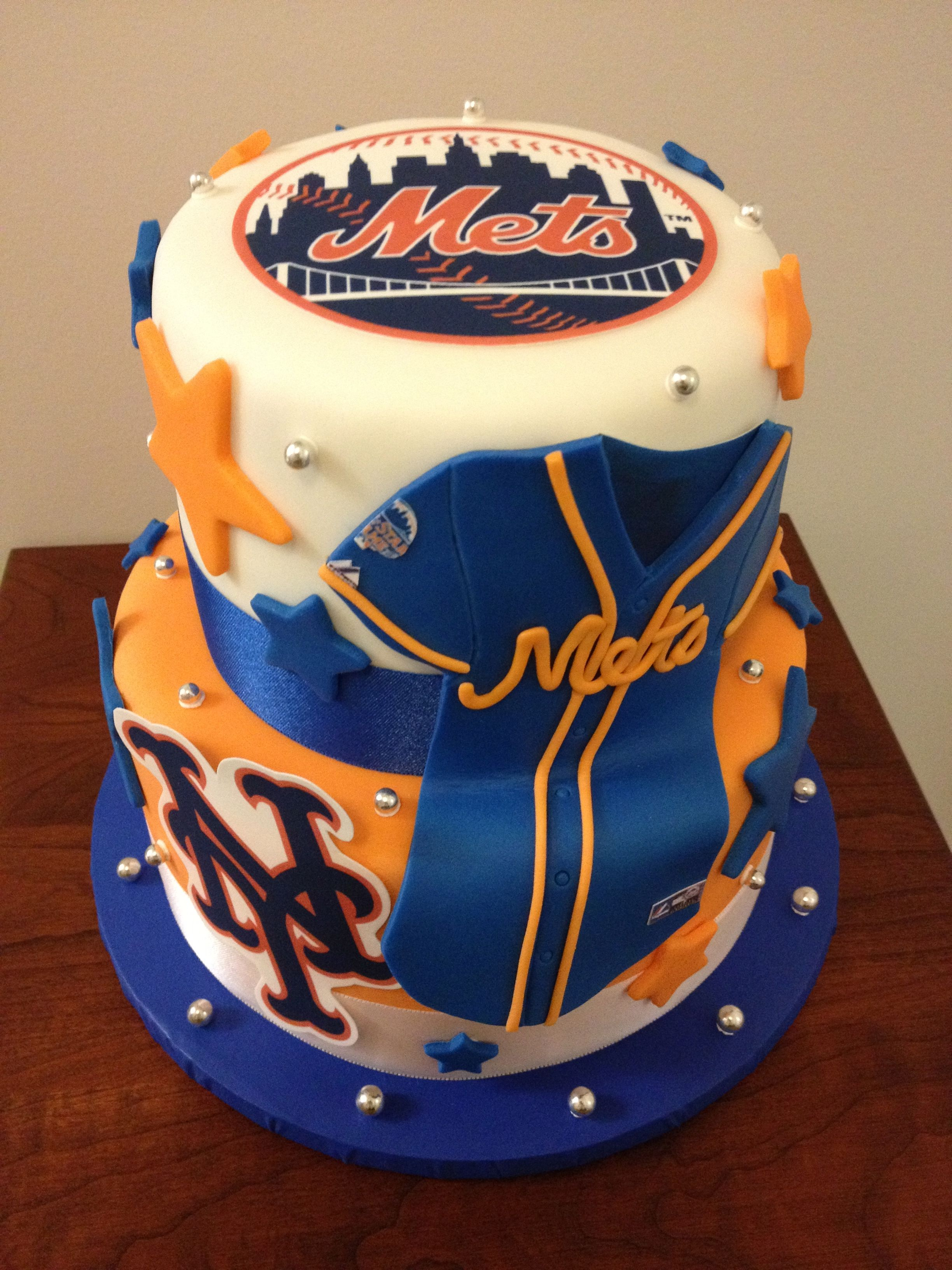 The Mets Cake Sweet Marys New Haven Ct