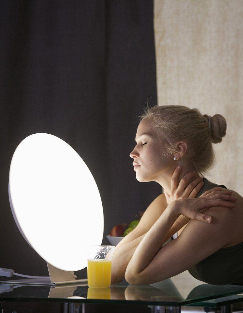 Innosol Rondo Circular Light Therapy Unit Seasonal Affective Disorder Light Therapy Light Therapy Lamps