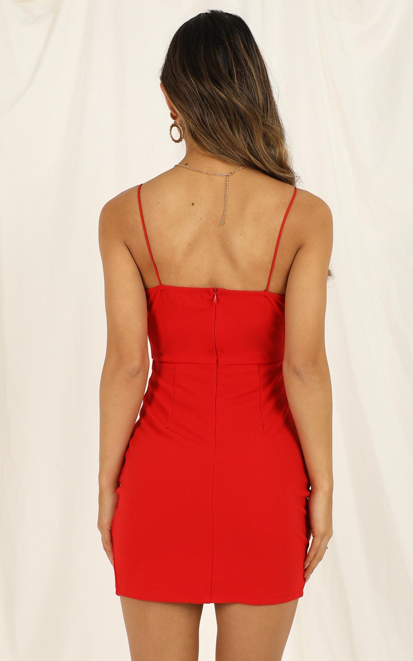 My Whole Heart Dress in Red | Showpo