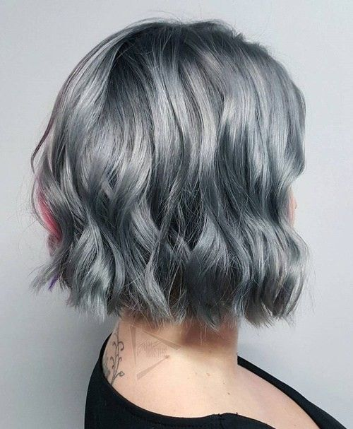 45++ Hairstyles for salt and pepper hair trends