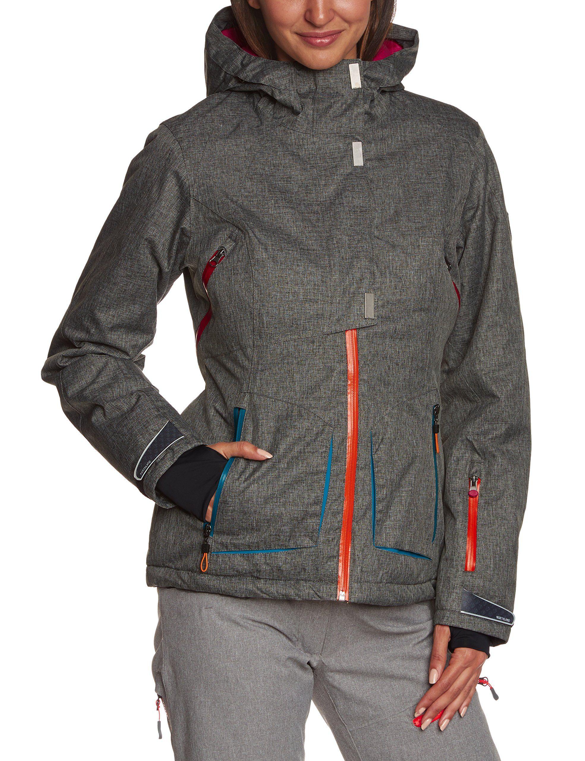8e2271be8d38 Northland Professional 02-06601 - Women s Skiing Jacket  Amazon.co ...