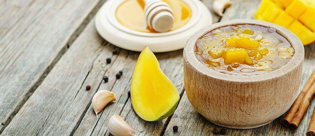 Encurtido de mango   Cocina y Vino