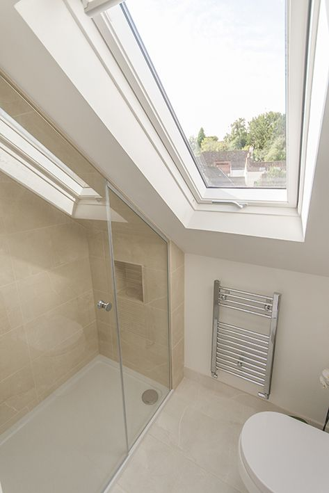 Loft Conversion Bathroom With Fittings From Bathrooms Com Loft Bathroom Small Bathroom Remodel Bathroom Trends 2018