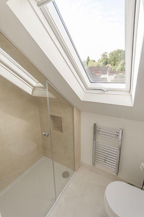 Small Loft Conversion Idea Loft Bathroom Small Attic Bathroom Loft Room