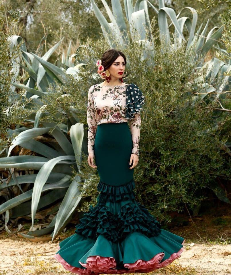 4982627c3 Flamenco style   Style/Makeup/Hair I love en 2019   Flamenco costume ...