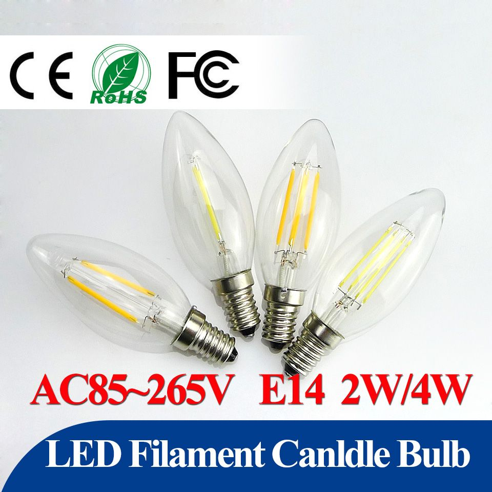 Energy saving led bulb e14 2w 4w led filament cand light c35 360 energy saving led bulb e14 2w 4w led filament cand light c35 360 degrees globe candelabra arubaitofo Gallery