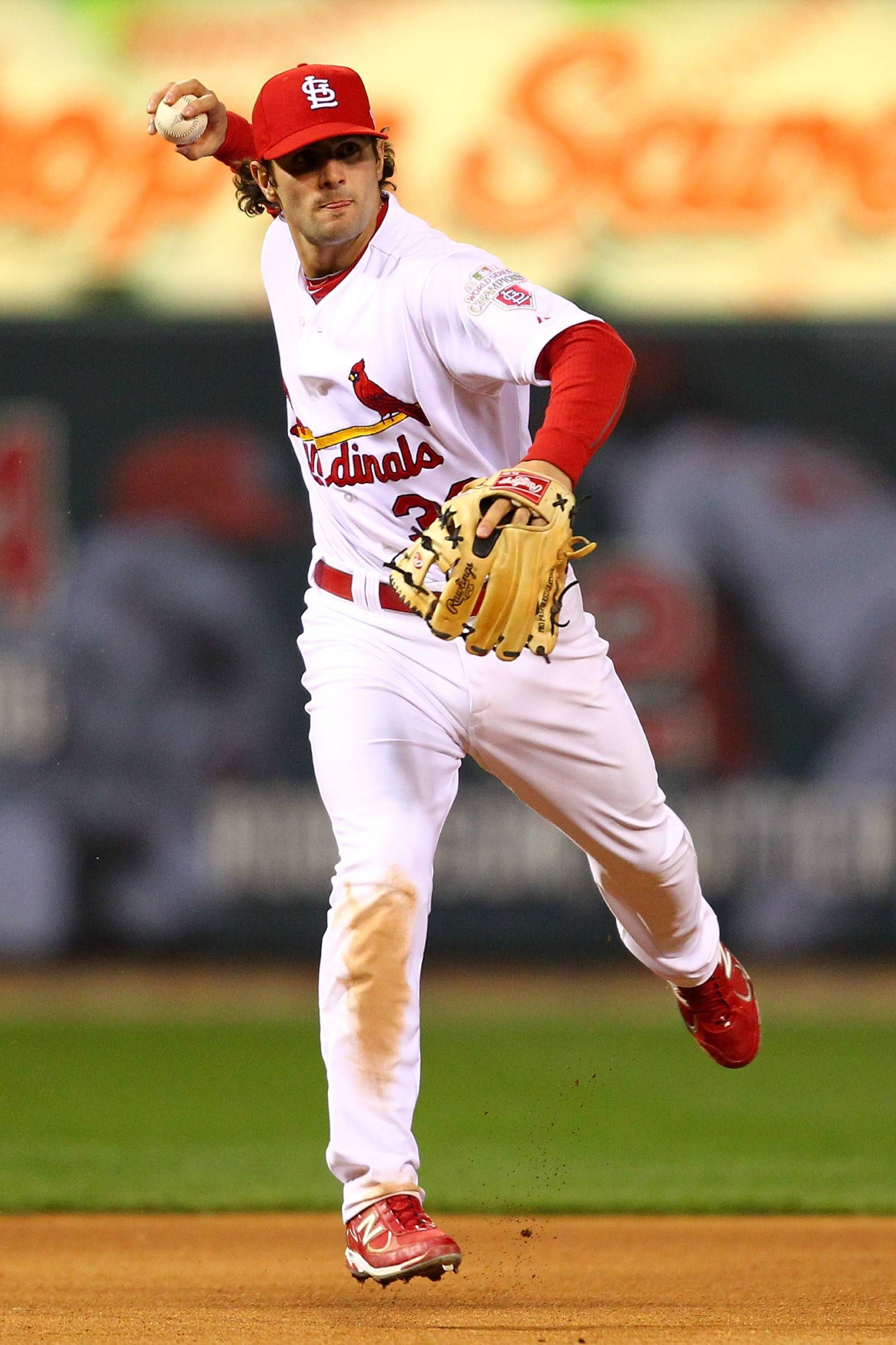 Game 4 of the NLCS Pete Kozma 101812 St louis