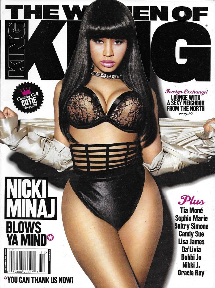 The Women of King magazine Nicki Minaj Tia Mone Sophie Marie Lisa James  Nikki J