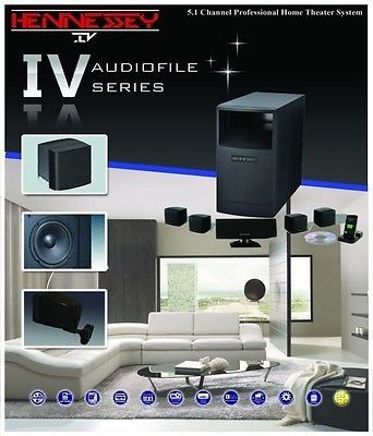 Cool Hennessy Iv Audiofile Series 5 1 Channel Professional Home