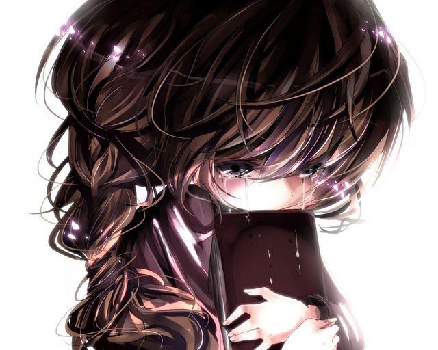 The 25+ best Sad anime girl ideas on Pinterest | Sad anime ...