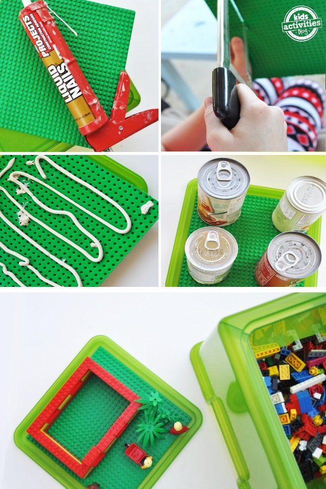 Elegant DIY Lego Storage