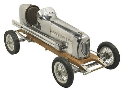 "Bantam Midget Aluminum Model 1930s Tether Car Replica Spindizzy 19""   eBay"