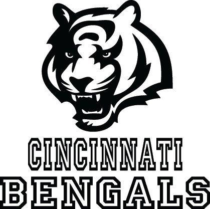Cincinnati Bengals Football Logo & Name Custom by