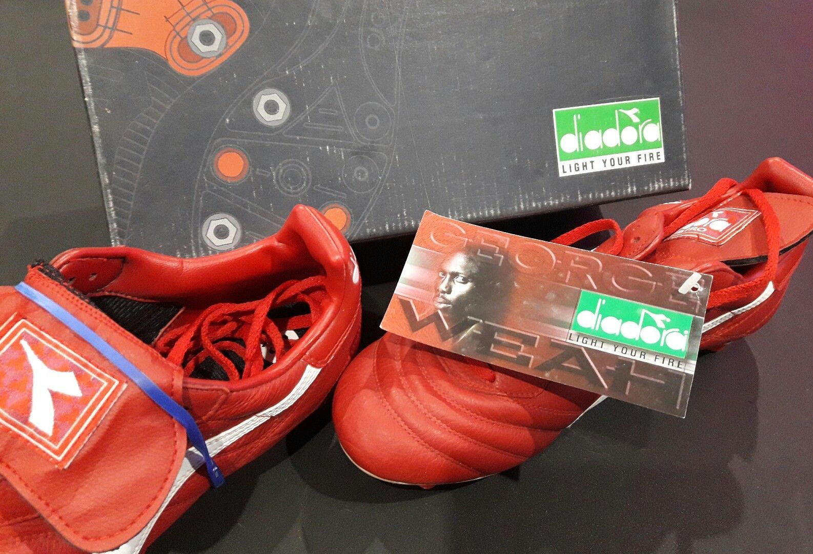 Milan Diadora Weah Offer Football Boots Mercurial Predator George UqUawrC