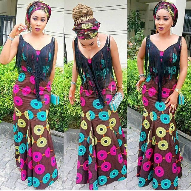 Your fabric goes a long way in determining how amazing your aso ebi style would look like, this days French lace, Guipure, Chantilly lace, sequin and