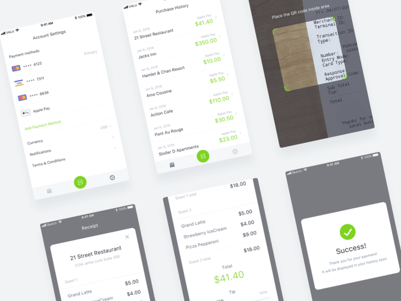 Receipt Scanner App with Purchase History Scanner app