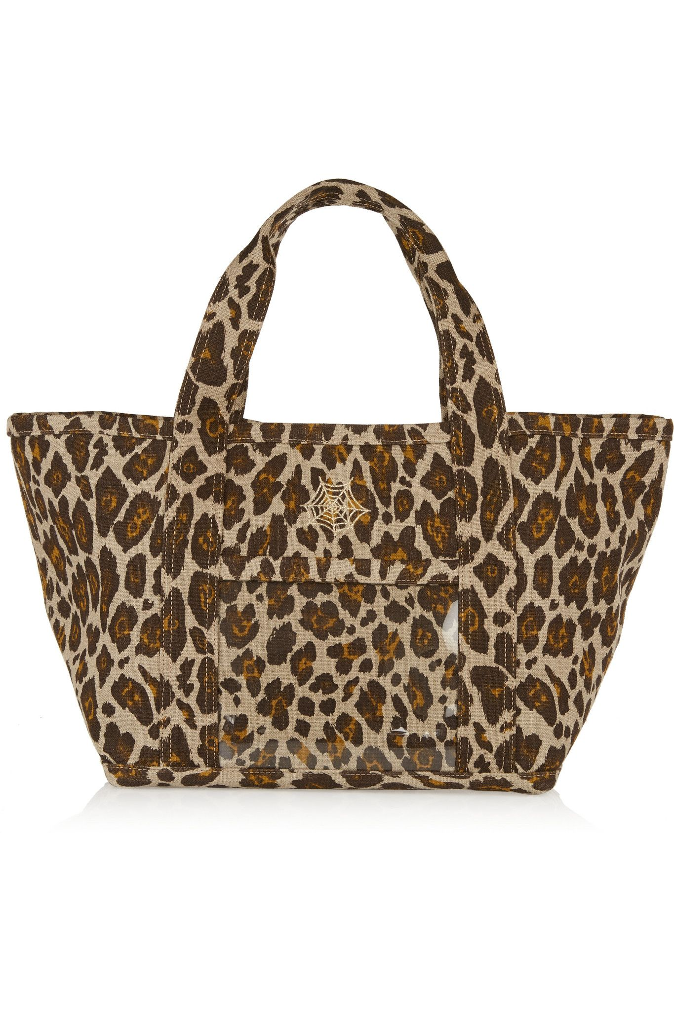 CHARLOTTE OLYMPIA Ami leopard-print canvas tote €625.00 http://www.net-a-porter.com/products/503751