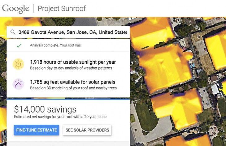 ONE: Project Sunrooj, la herramienta de Google que te ayuda a saber el potencial que tiene una casa para capturar Energía Solar