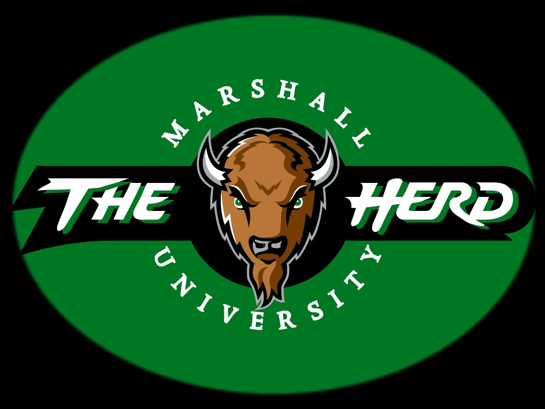 Marshall Thundering Herd Logo 1 Marshall Thundering Herd Marshall Thundering Herd Football Marshall