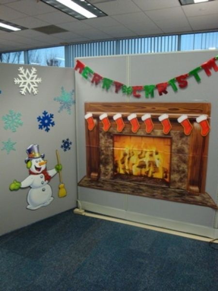 christmas decorating ideas for an office cubicle holiday office - office christmas decorations