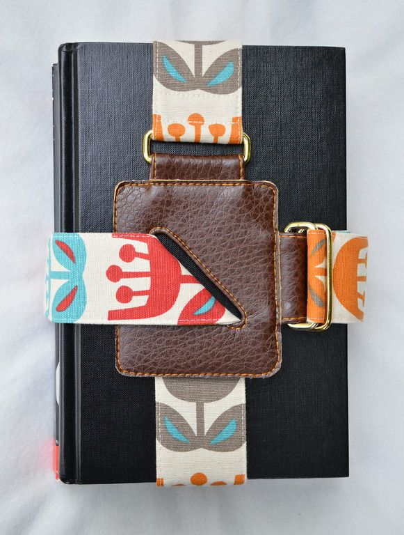 Book strap tutorial | How About Orange