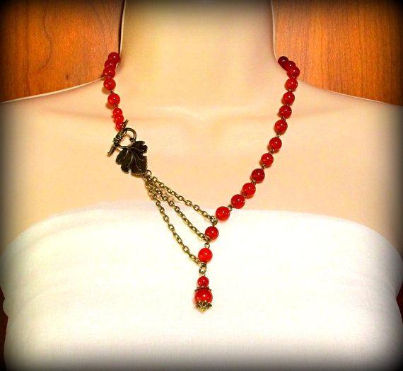 Alluring Red Carnelian by byBrendaElaine on Etsy